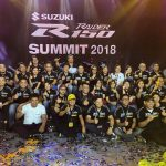 Congratulations Suzuki Philippines! Suzuki Raider R150 Summit 2018 Huge Success!