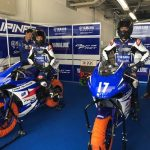 Yamaha Team Pilipinas! Warm Up sessions before going to Race 2.. Last Minute Ins…