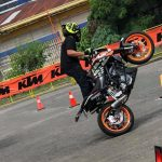 Ram Teves in Action KTM Dukehana and Orange Day Tour Davao. Victoria Plaza