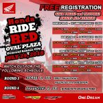 HONDA RIDE RED Oval Plaza, General Santos City July 29, 2018