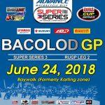 Four Days to GO! Back in the City of Smiles this June 24, 2018 Bacolod Grand Pri…
