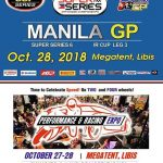 Get Ready on Oct. 28! Manila GP SCOOTER CLUB RACES (Beg. & Nov. only) – All Mari…