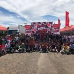 Honda Ride Red Dumaguete Race Day Today! Dumaguete Business Park