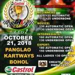 This Weekend at Panglao Kartway, Bohol.CASTROL POWER1 TRL Cup  Panglao Kartways …