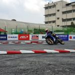 Watch out for the main event later. The final battle between Suzuki and Yamaha. …
