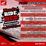 Honda Ride Red in Dumaguete City September 23, 2018, Dumaguete Business Park