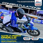 Congratulations Mark Djereck Ondillo Shell Advance Super Series Nationwide Champ…
