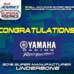 Congratulations Yamaha!!!  TRIPLE DOUBLE! 2016-2018 Shell Advance Super Series N…