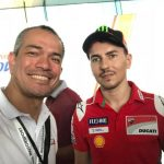 Jorge Lorenzo!  Moto GP Ducati Corse Team at the Shell VIP Village.   #shelladva…