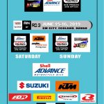 Shell Advance Super Series Mindanao Grand Prix!  June 15-16, 2019 SM City, Ecola…