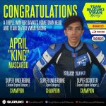 Team Suzuki-VMan did it big in Davao!!! 6 trophies with 4 championship titles! O…