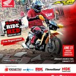 Feel and experience the toughness and durability of the XRM125 Fi in #HondaRideR…