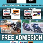 FREE ADMISSION!  at the Bacolod Baywalk  July 13 – Saturday – KTM Dukehana  July…