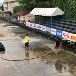 Bacolod Grand Prix  Race track cleaning Bay Walk BCD   Saturday Race KTM Dukehan…