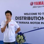 Yamaha Motor Philippines Inaugurates New Distribution Center..  Mr. Hiroshi Koik…