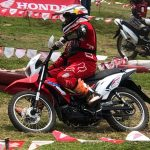 The New Honda XRM 125 FI  In Action here at Honda Ride Red Davao