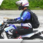 WE HAVE CONQUERED THE LAHAR TERRAIN  USING THE YAMAHA SEROW 250  What a great co…