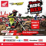 Get Ready for the Extreme!  Carcar City, Cebu!  Honda Ride Red Carcar Cebu  Nove…