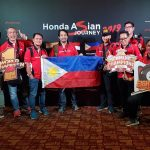 Honda PH Media contingent at the 2019 Malaysian Motorcycle GP!  #HondaAsianJourn…