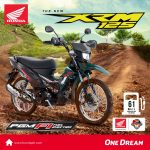 See the New HONDA XRM 125 with PGM-Fi at the Honda Ride Red Carcar Cebu this Nov…