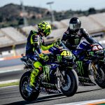 CtoSwapping rides with Rossi was epic guys! Best day ever   #LH44VR46  // Monste…