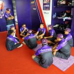 Last minute instructions is now given by Sir Jordan Cornista to the whole Yamaha…