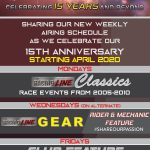 Sharing to you our weekly schedule this April 2020, as we celebrate our 15th Yea…
